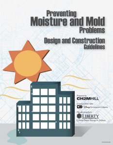 Click here to download a free copy of the Mold and Moisture Manual